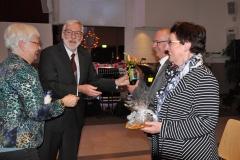 Marij Palmen-Sijben 25 jaar lid van koor