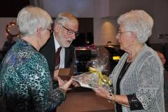 Tila Peters-Willems 50 jaar lid! Vanaf begin van koor.