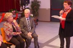 Paul van de Boom is 40 jaar id van het koor