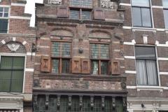 Dordrecht met enkele stadsgidsen - mooie gevels