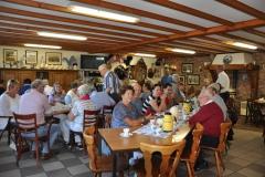 Bezoek aan struisvogelfarm - eerst koffie met uitleg