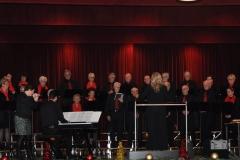 Kerstconcert Posterholt o.l.v. dirigente Jacqueline