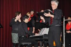Kerstconcert Posterholt: solo Jos samen met koor