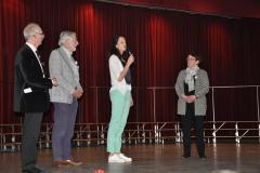 Vertegenwoordiger van het Kankeronderzoekfonds Limburg geeft toelichting waar geld voor gebruikt wordt