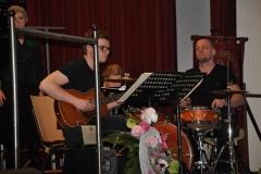 Gitaar Florian Verhagen, drums Pier Boosten